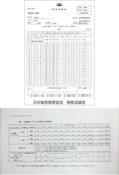 検査データ
